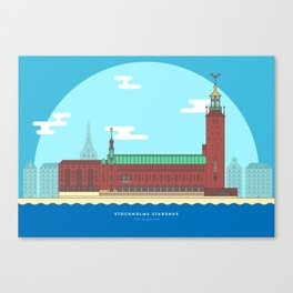 Stockholm - City Hall Canvas Print