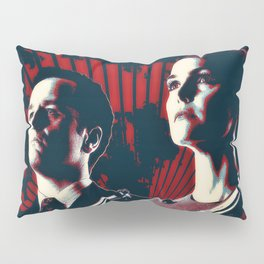 Jennings Cold War KGB V FBI Pillow Sham