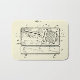 Container for Tennis Racket and the Like-1925 Bath Mat