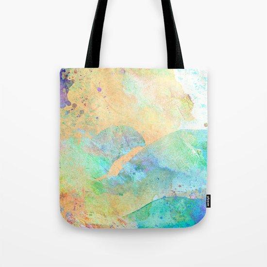 Pastel Color Splash 01 Tote Bag