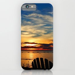 Peace and Relaxation at the Sea shore iPhone Case