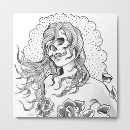I Want Your Skull Metal Print