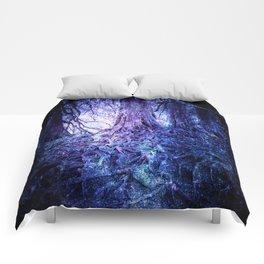 The Wishing Tree : Purple Blue Comforters