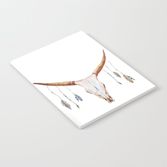 Animal Skull 03 Notebook