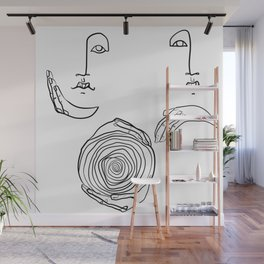 Care and Support Wall Mural