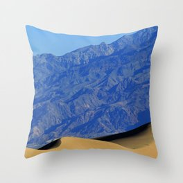 Death Valley Dunes Throw Pillow