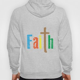 A Great gift for everyone who have faith in God Strong & fearless person believe the power of faith. Hoody