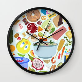 My Cravings Make No Sense Wall Clock