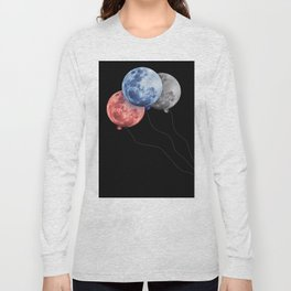 3 moons Long Sleeve T-shirt