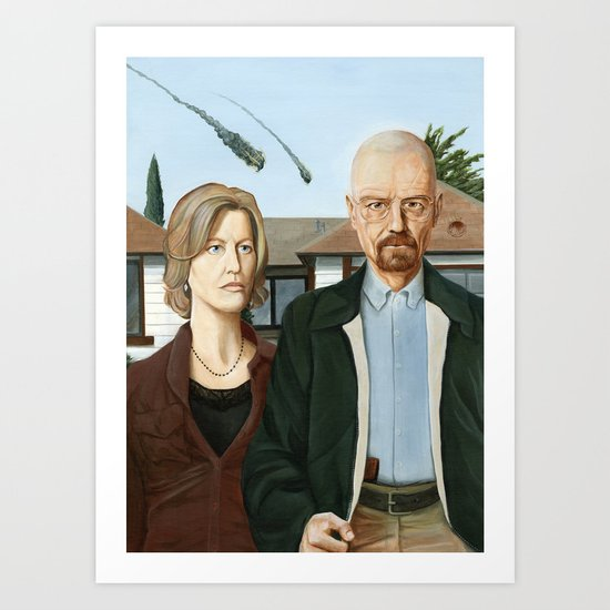 The Heisenbergs Art Print