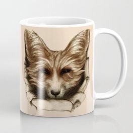 Hallo Fuchs! Mixed Media Art Coffee Mug