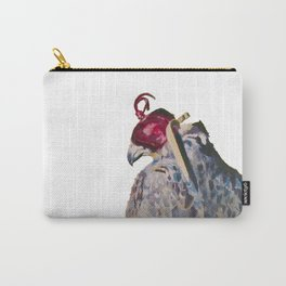 Gyrfalcon - falcon painting Carry-All Pouch