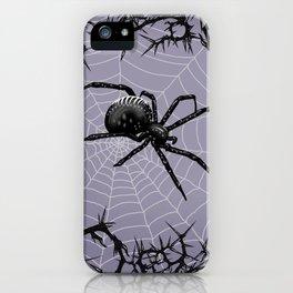 Briar Web - Gray iPhone Case