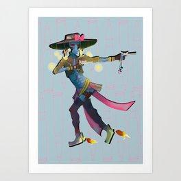 Sailor Bane Art Print