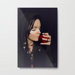 Darklight Witch Metal Print