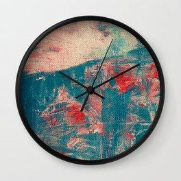 Camminare al Tramonto Wall Clock