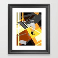 Compression Framed Art Print
