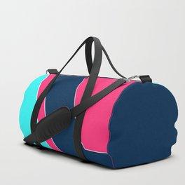 Blue , crimson ,dark blue Duffle Bag