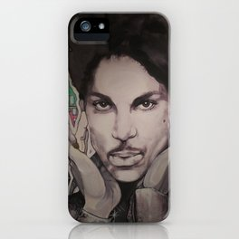Mural Of the Artist formerly known as Prince iPhone Case