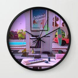 California Dreamin' Wall Clock