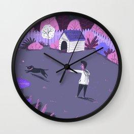 Play in the night garden Wall Clock