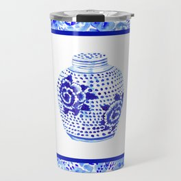 Chinoiserie Ginger Jar No. 1 Travel Mug