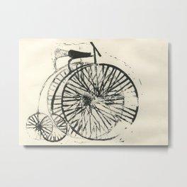 Penny-farthing Metal Print