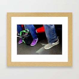 Three And A Half Feet Framed Art Print