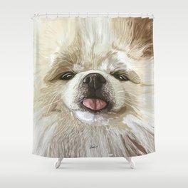 Pomerania Milla Shower Curtain