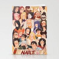 naruto Stationery Cards featuring Naruto by kuma naru