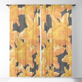 several of a blossom Sheer Curtain