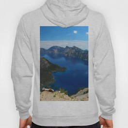 Wizard Island In The Lake Hoody