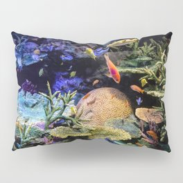 Brain Coral and Bright Colours Pillow Sham