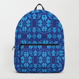 Blue Adventure Spin Graphic Backpack