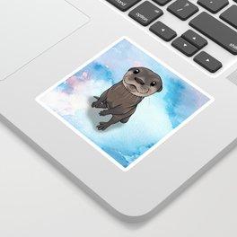 Otter Cuteness Sticker