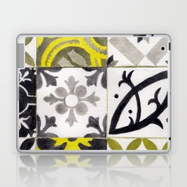 JD_tiled floor1–gouache Laptop & iPad Skin