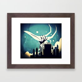 The Castle's Keeper Framed Art Print