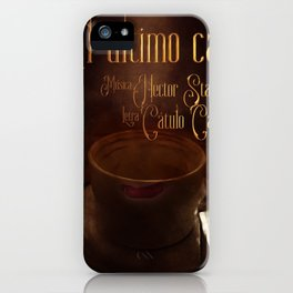 El último café iPhone Case