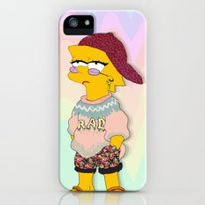 chic lisa simpson iPhone SE Slim Case