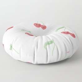 Cherry Print Floor Pillow