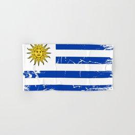 Uruguay flag Hand & Bath Towel
