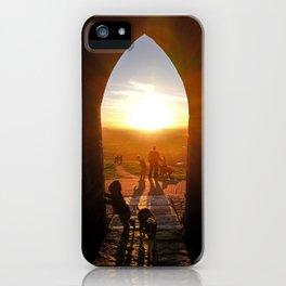 Glastonbury Portal Of Life iPhone Case