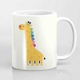 Giraffe Piano Coffee Mug