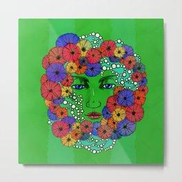 Floral (pearl series) Metal Print