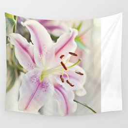 Stargazer Lily Wall Tapestry