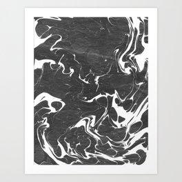 血液 (Blood) Art Print