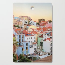 Lisbon sunset Cutting Board