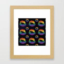 Kiss The Stars Framed Art Print