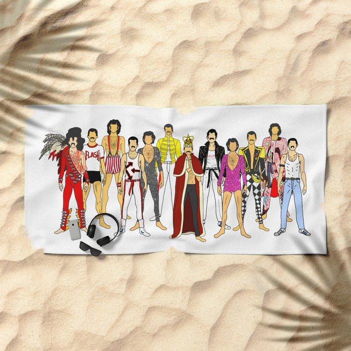 Outfits of Freddie Fashion Beach Towel