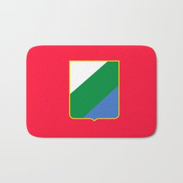 flag of Abruzzo Bath Mat